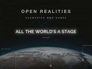 OPEN REALITIES | AR-VR MMO Games | Product Development – UI/UX – Branding