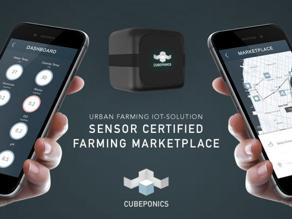 CUBEPONICS – Sensor Certified Farming Marketplace | Product Development – Branding
