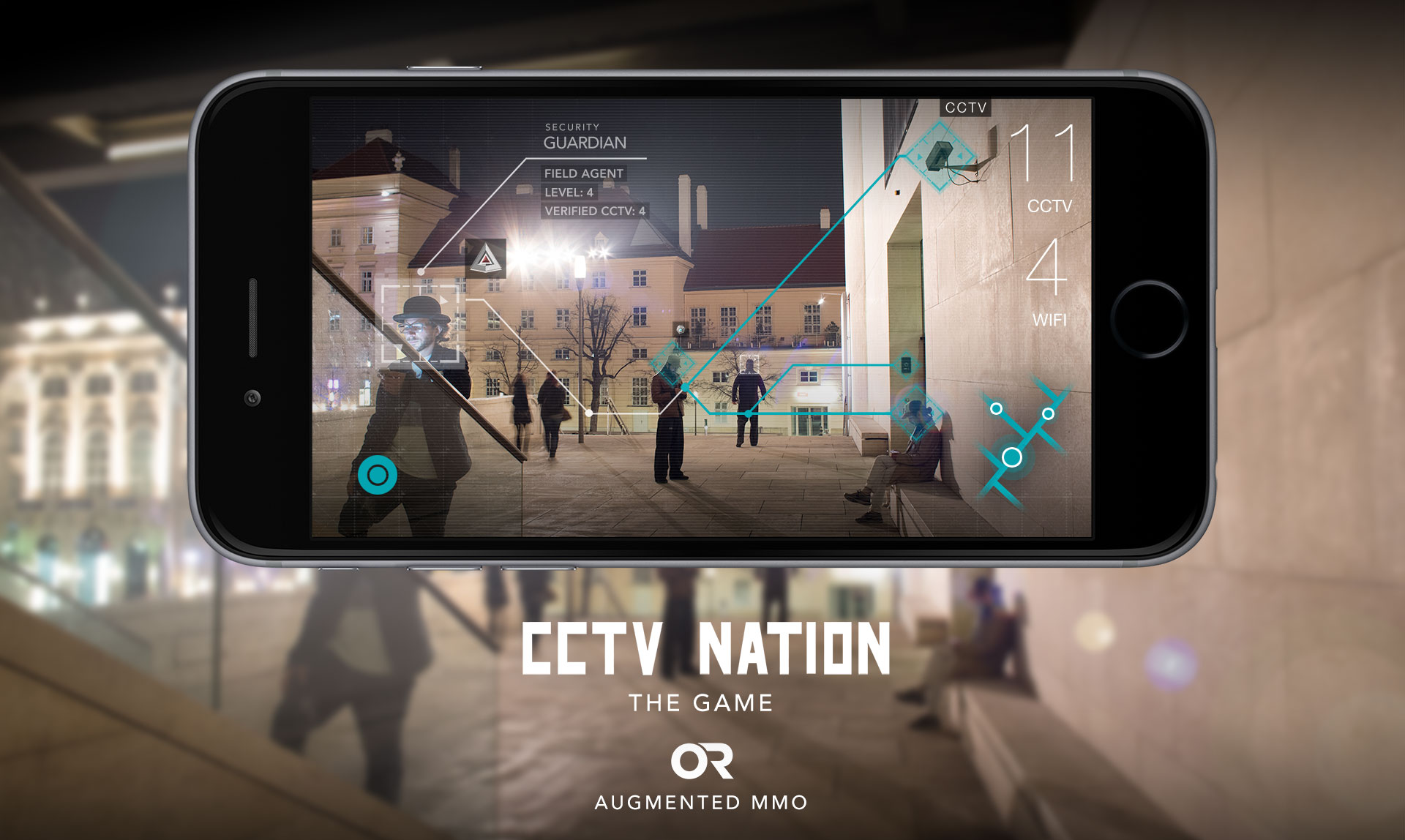 CCTV NATION - THE GAME LOCATION BASED AUGMENTED MMO by OPEN REALITIES INC.