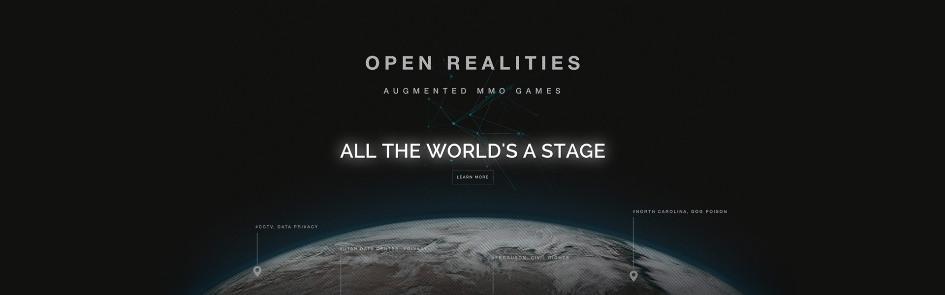 Open Realities, Inc. LOCATION BASED AUGMENTED MMO Games