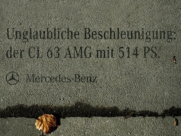 MERCEDES BENZ CL 63 AMG   SHADOW